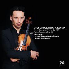 CC72689. SHOSTAKOVICH; TCHAIKOVSKY Violin Concertos