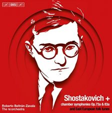 BIS2227. SHOSTAKOVICH Chamber Symphonies