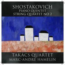 CDA67987. SHOSTAKOVICH String Quartet No 2. Piano Quintet