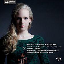 CC72681. SHOSTAKOVICH; GUBAIDULINA Violin Concertos