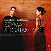 MIM0004. SHOSTAKOVICH; SZYMANOWSKI Violin Sonatas