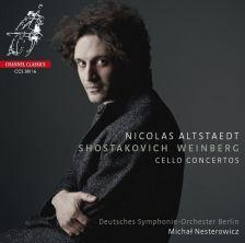 CCS38116. SHOSTAKOVICH. WEINBERG Cello Concertos