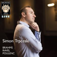 WHLIVE0081. Simon Trpčeski plays Brahms, Ravel & Poulenc