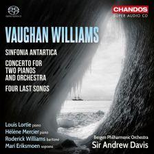 CHSA5186. VAUGHAN WILLIAMS Symphony No 7. Concerto for Two Pianos