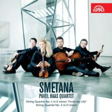 SU4172-2. SMETANA String Quartets 1 & 2