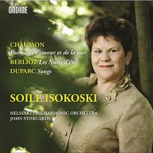 ODE1261-2. Soile Isokoski sings Chausson, Berlioz & Duparc