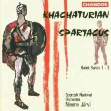 Khachaturian Spartacus Ballet Suites 1-3