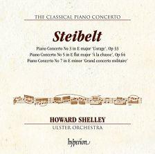CDA68104. STEIBELT Piano Concertos Nos 3, 5 & 7