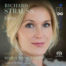 MDG922 2062-6. STRAUSS Lieder (Maria Bengtsson)