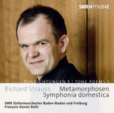 SWR19021CD. STRAUSS Symphonia Domestica, Metamorphosen