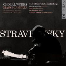 DCD34164. STRAVINSKY Mass. Cantata. 3 Sacred Choruses