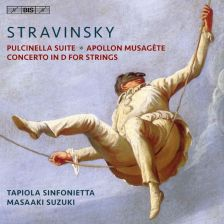 BIS2211. STRAVINSKY Pulcinella Suite. Apollon musagète