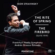 PTC5186 556. STRAVINSKY The Rite of Spring. The Firebird