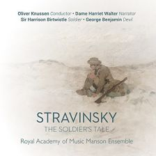 CKD552. STRAVINSKY The Soldier's Tale. Fanfare for a New Theatre