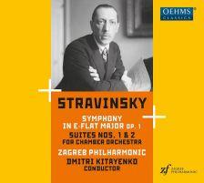 OC1888. STRAVINSKY Symphony Op 1. Suites Nos 1 & 2 (Kitayenko)