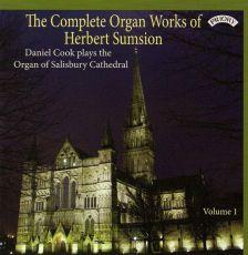 PRCD1075 . SUMSION Complete Organ Works Vol 1. Daniel Cook