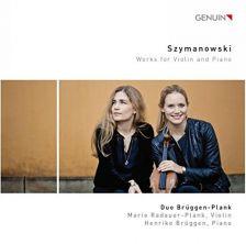 GEN17459. SZYMANOWSKI Works for Violin and Piano