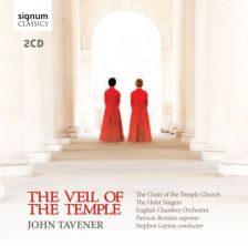 SIGCD367. TAVENER The Veil of the Temple