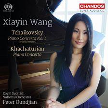 CHSA5167. TCHAIKOVSKY; KHACHATURIAN Piano Concertos