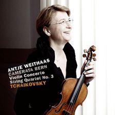 8553393. TCHAIKOVSKY Violin Concerto (Weithass) String Quartet No 3