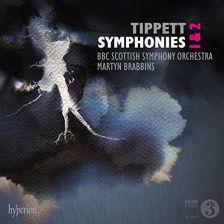 CDA68203. TIPPETT Symphonies Nos 1 & 2