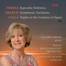 SOMMCD250. FALLA Noches en los jardines de España FRANCK Symphonic Variations. Valerie Tryon