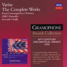 VARÈSE Complete Works – Chailly