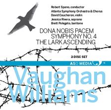 CD1005. VAUGHAN WILLIAMS Dona nobis pacem. Symphony No 4
