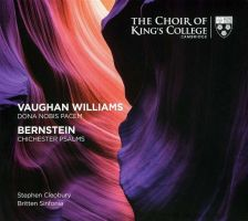 KGS0021. VAUGHAN WILLIAMS Dona Nobis Pacem BERNSTEIN Chichester Psalms