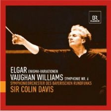 Elgar Enigma Variations; Vaughan Williams Symphony No 6 – Davis