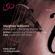 LSO0792. VAUGHAN WILLIAMS Fantasia BRITTEN Variations