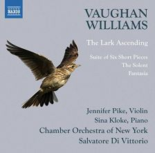8 573530. VAUGHAN WILLIAMS The Lark Ascending