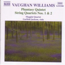 Vaughan Williams String Quartets Nos. 1 & 2; Phantasy Quintet