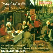 Vaughan Williams Tudor Portraits; Variants of Dives & Lazarus