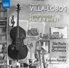 8 573777. VILLA-LOBOS Symphonies Nos 8, 9 & 11