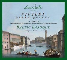 ERP7214. VIVALDI Sonatas for Violin and Continuo