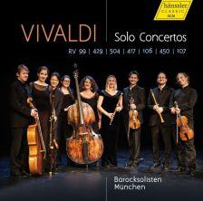 CD98 034. VIVALDI Solo Concertos