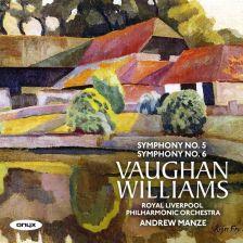 ONYX4184. VAUGHAN WILLIAMS Symphonies Nos 5 & 6 (Manze)