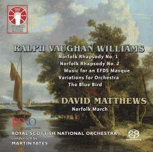CDXL7351. VAUGHAN WILLIAMS Norfolk Rhapsodies (Yates)