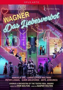 OA1191D. WAGNER Das Liebesverbot