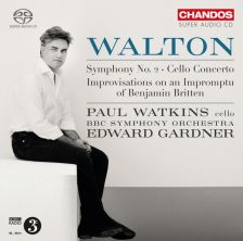 CHSA5153. WALTON Symphony No 2. Cello Concerto
