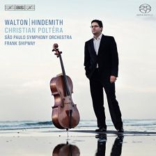 BIS2077. WALTON; HINDEMITH Cello Concertos