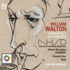 NI6290. WALTON Symphony No 2. Viola Concerto