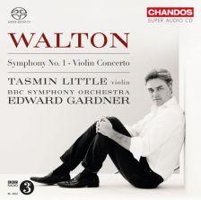 WALTON Symphony No 1. Violin Concerto