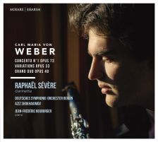MIR372. WEBER Clarinet Concerto. Grand duo concertant