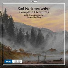 CPO777 831-2. WEBER Complete Overtures