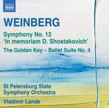 8 573085. WEINBERG Symphony No 12. The Golden Key