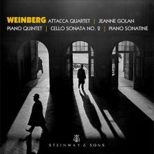 30072. WEINBERG Piano Quintet. Cello Sonata No 2. Piano Sonatine