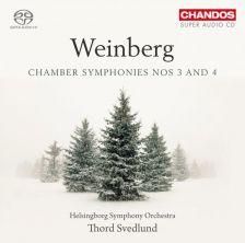 CHSA5146. WEINBERG Chamber Symphonies Nos 3 & 4