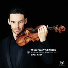 CC72688. WEINBERG Solo Violin Sonatas SHOSTAKOVICH 3 Fantastic Dances